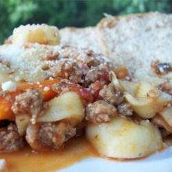 Rustic Sausage Pasta
