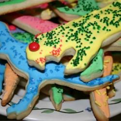 Dinosaur Sugar Cookies