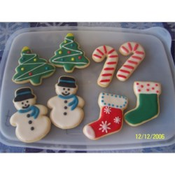 Christmas cream cheese sugar cookies