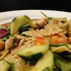 Mandarin Chicken Pasta