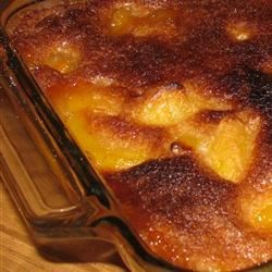 Quick and Easy Southern Peach Cobbler