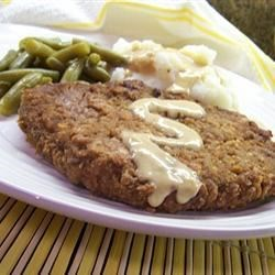 Country Fried Steak and Milk Gravy Recipe - I have been making this for years and my family just loves it. The gravy is great served over the steak, or on mashed potatoes.