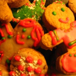 Gingerbread Folk Recipe - Gingerbread cookies are always fun to make with kids, and this recipe for delicious and spiced gingerbread folk is no exception.