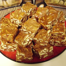 Aunt Bill's Brown Candy Recipe - A rich, old-fashioned, creamy, pecan candy made with sugar, cream, butter and pecans that can be a family candy-making event.