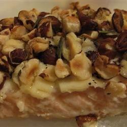 Hazelnut Crusted Salmon