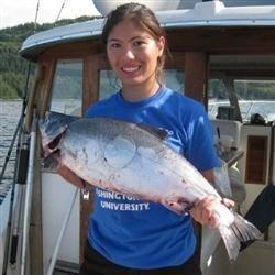 Fishing at home