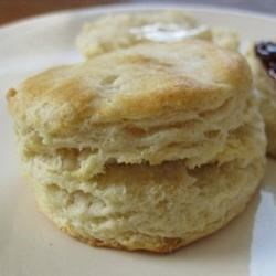 Basic Biscuits Recipe - A basic recipe for rolled baking powder biscuits. They're easy and go with almost anything!
