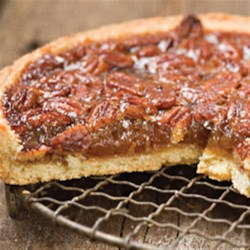Pecan Tart from Agave In The Raw(R) Recipe - This easy pecan tart can be served with whipped cream and extra pecans.