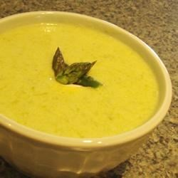 how to make fresh asparagus soup