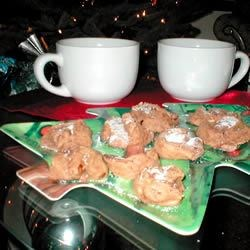 Coffee Shortbread Cookies