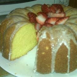 Lemon Pound Cake II Recipe - A lemony pound cake with the added addition of lemon pudding for an extra moist taste sensation.