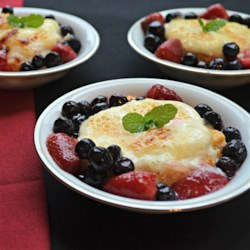Mascarpone Brulee with Fresh Berries  Recipe - Your friends will all 'ooh' and 'ahh' over these shortcakes with mascarpone brulee and fresh berries. Thanks, Chef John!