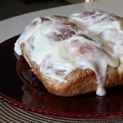 Mom's Good Cinnamon Rolls Recipe - Easy to make yeasted cinnamon rolls that are tied into bow shapes and baked in a pan.