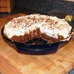 Chocolate Cream Pie I Recipe - To make this classic pie, simply bake the pie shell, whip up the dreamy chocolate cream filling, pour it into the shell, and chill. Serve with great dollops of whipped cream and shaved chocolate.
