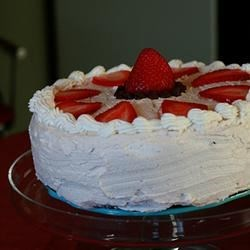 Black Magic Cake with Butter Cream frosting