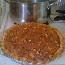 """Cream Cheese Crust"" & ""Brown Family's Favorite Pumpkin Pie"""
