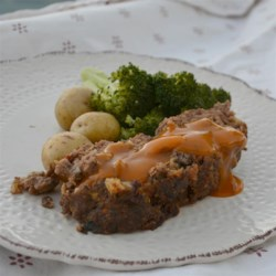 Mom's 'Best Ever' Meatloaf Recipe - This meatloaf recipe uses golden mushroom soup both in the meatloaf and to make a gravy to serve over the meat.