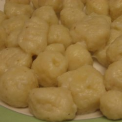 Gnocchi II Recipe - Melted butter adds a subtle difference to these potato dumplings.