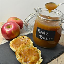Apple Butter VI Recipe - This is a tasty recipe that I got from my mom.  As a child, I used to eat it on hot buttered toast. It's so easy to make, and it tastes great!