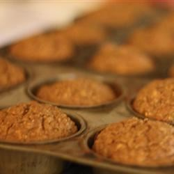 Roxie's Bran Muffins Recipe - Bran muffins are made with bran cereal, apple, banana, honey, and plump raisins.