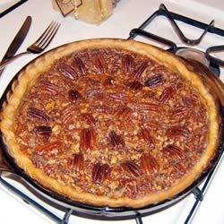 Pecan Pie VII Recipe - This is a simple, yet delicious recipe to make without the syrup that most pecan pie   recipes call for. It's more like a custard pie with pecans.