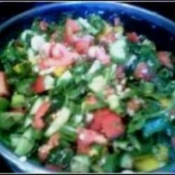 Maslow's Israeli salad