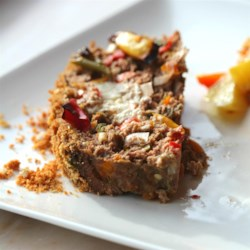 Habanero and Goat Cheese Meat Loaf Recipe - Give this American classic a kick in the pants by adding goat cheese and habanero pepper.