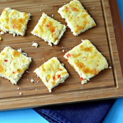 Cauliflower Squares Recipe - These cauliflower squares are similar to breadsticks but made out of cauliflower for a gluten-free, grain-free appetizer or snack.