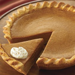 Signature Pumpkin Pie Recipe - The reviews are in -- everyone is raving about this fabulously easy pumpkin pie.