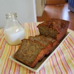 Budget Banana Sour Cream Bread