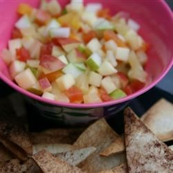 Budget Annie's Fruit Salsa and Cinnamon Chips