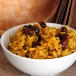 South African Yellow Rice Recipe - This is a traditional South African recipe, which comes from the great culinary tradition of the Cape Malays -- originally brought in as slaves in the 17th century. It's easy and plain, but great with meats like venison, corned beef tongue or any meat with gravy. Also usually served with Bobotie: There is a good recipe by Caryn on this site.