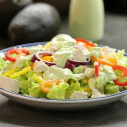 Creamy Avocado Vinaigrette Recipe - Drizzle this creamy, garlicky avocado dressing over a big bowl of greens for a delicious salad, or try using as a dip for fresh vegetables.