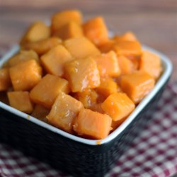 Orange Glazed Sweet Potatoes Recipe - The orange juice makes this a tasty dish.  Even people who are not fond of sweet potatoes like this one.  Give it a try!