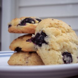 Blueberry Drop Cookies Recipe - A delicious alternative to chocolate chip cookies.