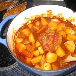 Aunt Jinny's Tangy Beef Brisket (September 11, 2009)