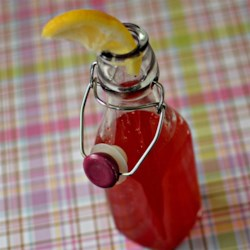Cherry Sport Drink Recipe - Tart cherry juice, water, salt, and lemon juice boiled together create a tasty sports drink with ingredients you can pronounce.