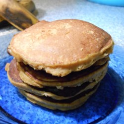 Healthy Pumpkin Banana Pancakes (Paleo Option) Recipe - Kids love these quick and easy pumpkin banana pancakes that can be tailored to the paleo diet by using almond flour instead of all-purpose flour.