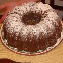 Pumpkin Cake II Recipe - Excellent fall or anytime cake. Dust with confectioners sugar before serving.