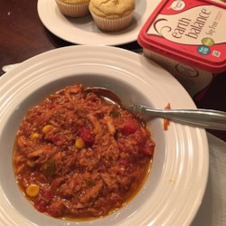 Get a Husband Brunswick Stew Recipe - Brunswick stew is a traditional Southern favorite! This version is brimming with pork, beef, and chicken.
