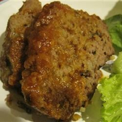 Healthier Brown Sugar Meatloaf