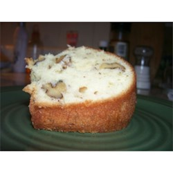 Pecan Pound Cake Recipe - This easy recipe makes a wonderfully moist pound cake with plenty of butter and pecans.