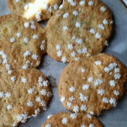Bette's Pineapple Cookies Recipe - A buttery sweet cookie that melts in your mouth with a slight crunch of crushed pineapple and the softness of a cake.