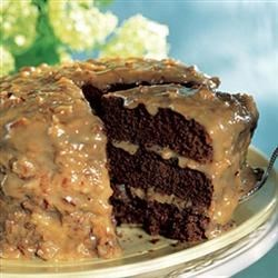 German Chocolate Cake Frosting Recipe - Coconut Pecan Frosting for German Chocolate Cake.
