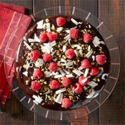 Double Chocolate Raspberry Cake from Reynolds Wrap®