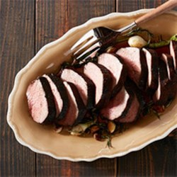 Espresso Coriander Brown Sugar Beef Tenderloin Recipe - This show-stopping entrée is sure to draw a crowd from Dennis Prescott of Dennis The Prescott.