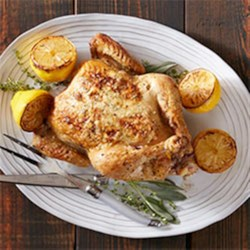 Ring-Roasted Chicken Recipe - Take it back to basics with this traditional chicken dish from Tim Sutherland of TimmyChew.