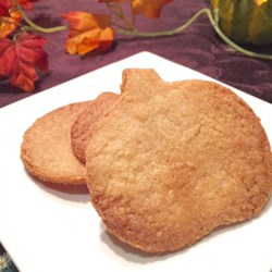 Butter Cookies I Recipe - These butter cookies are made with melted butter, rather than the creaming method. They can be baked as drop cookies, shaped into a log and sliced, or used for cut-out cookies.