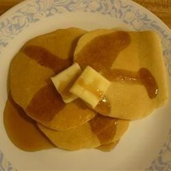 Herman Pancakes; with normal Sourdough Starter