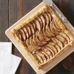 Browned Butter Apple Tart Recipe - Browned butter brings nutty flavor to this rich apple tart with vanilla.